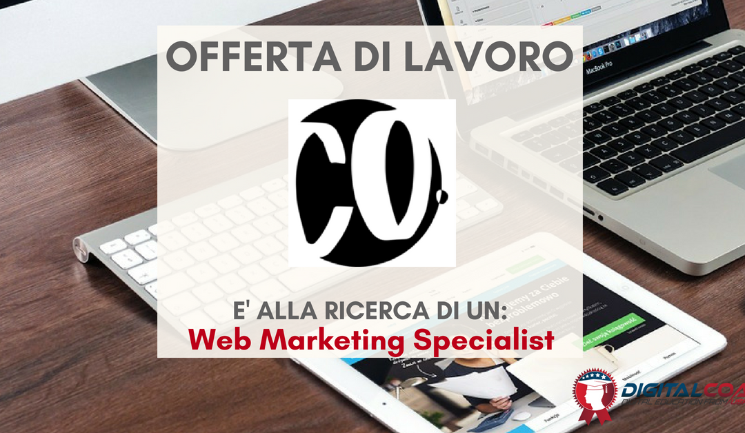 Web Marketing Specialist – Firenze – Gruppo Co.