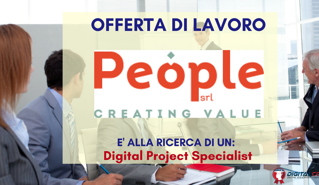 Digital Project Specialist – Milano – People