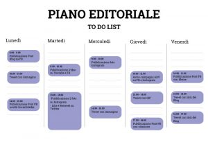 Ambassador marketing - piano editoriale