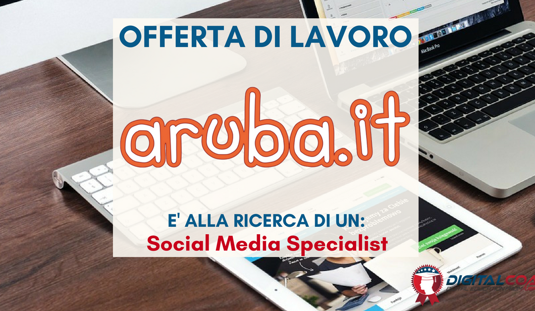 Social Media Specialist – Firenze – Aruba.it