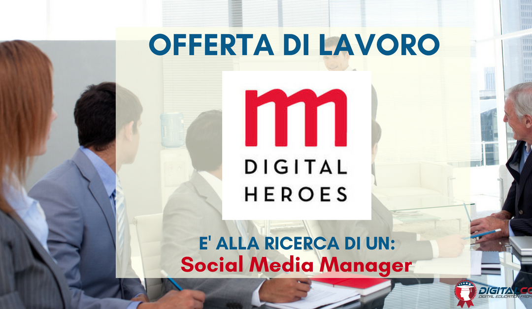 Social Media Manager – Roma – Imille