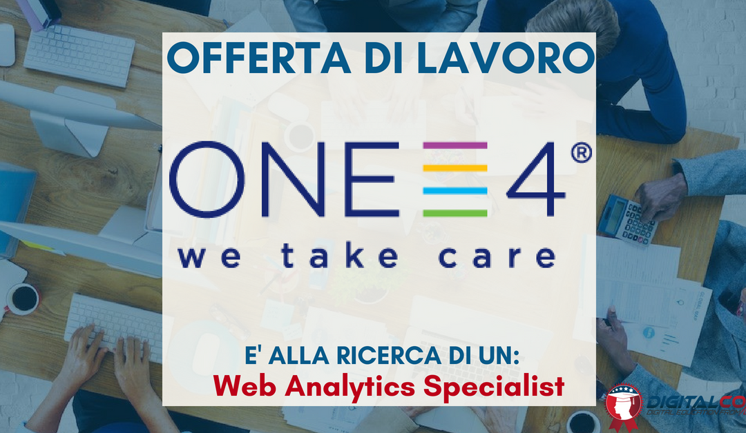 Web Analytics Specialist – Milano – ONE4
