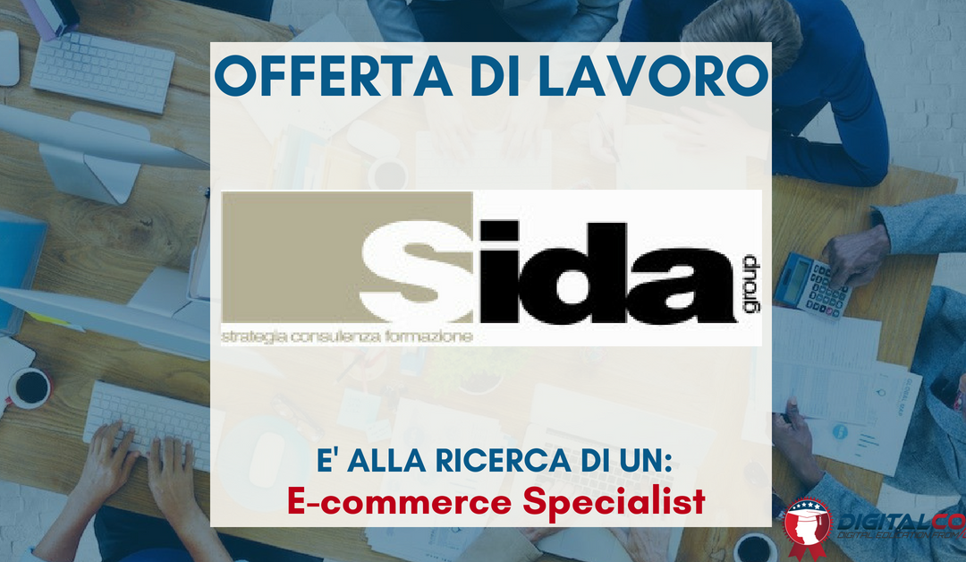 E-commerce Specialist – Roma – Sida Group