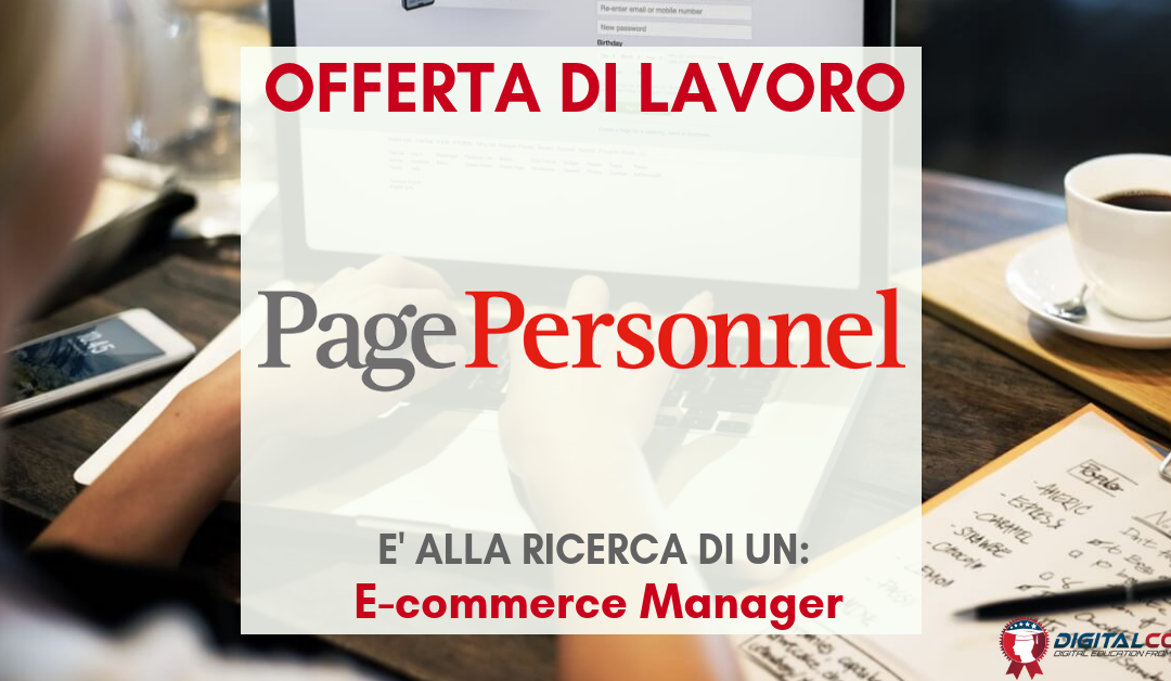 E-commerce Manager – Bergamo – Page Personnel