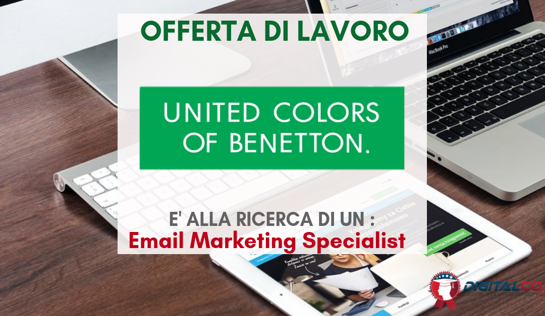 Email Marketing Specialist – Trento – Benetton