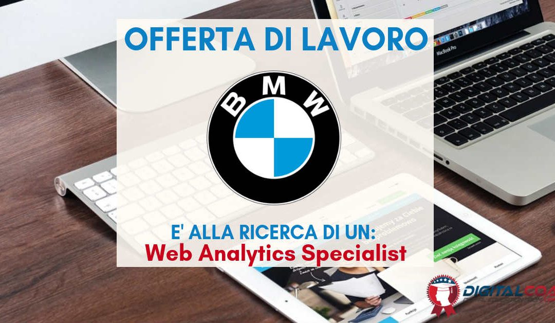 Web Analytics Specialist – Milano – BMW