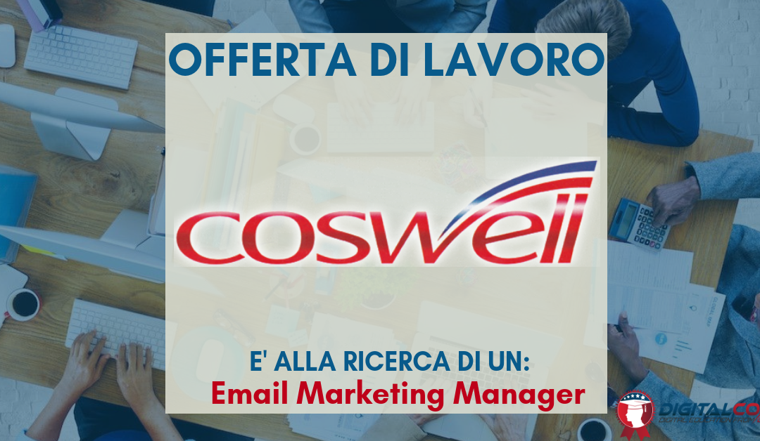 E-commerce Manager – Bologna – Coswell