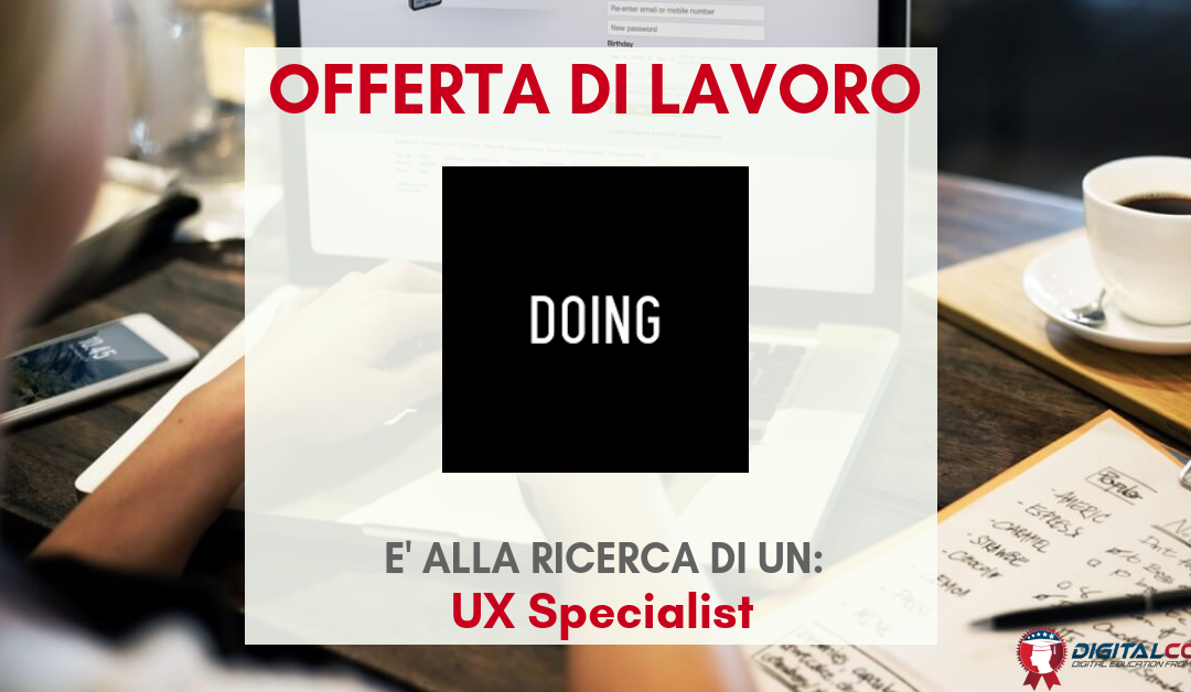 UX Specialist – Milano – DOING