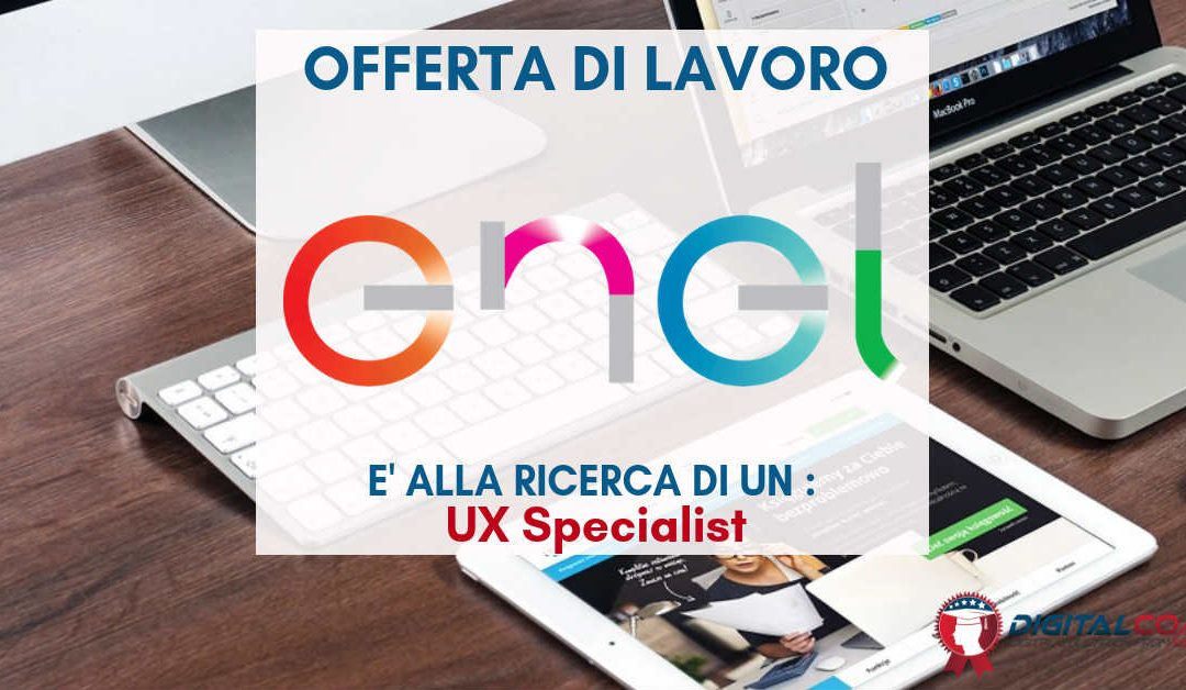UX Specialist – Roma – Enel