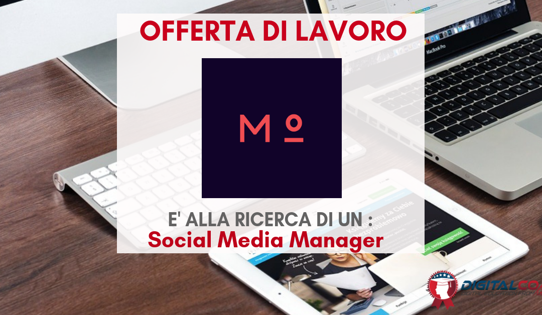 Social Media Manager – Firenze – meritocracy.is