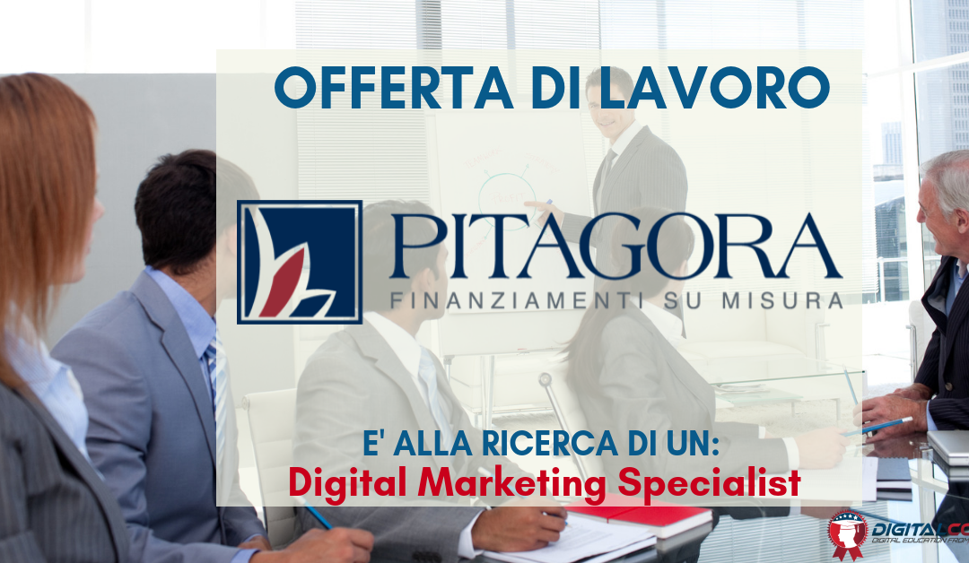 Digital Marketing Specialist – Torino – Pitagora