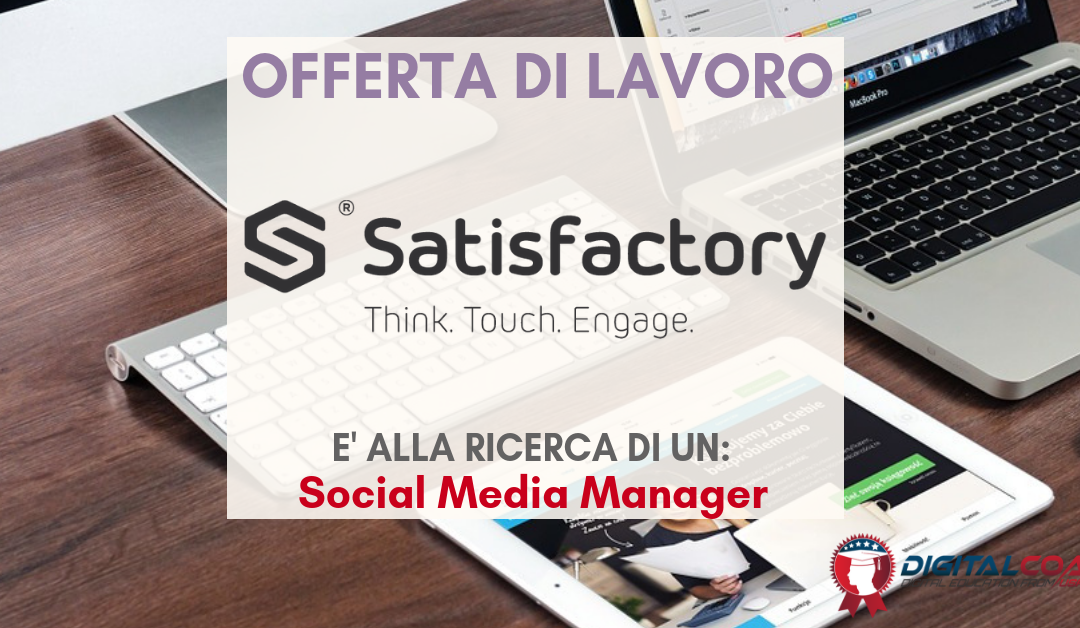 Social Media Manager – Roma – Satisfactory