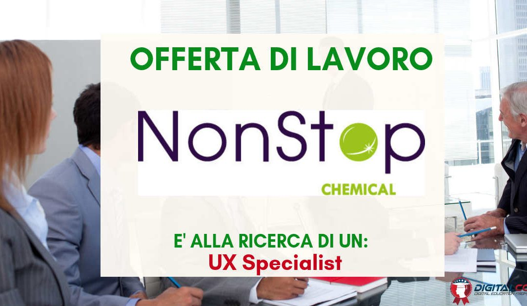 UX Specialist – Modena – NonStop Chemical