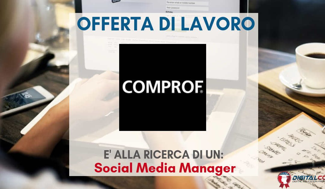 Social Media Manager – Napoli – Comprof
