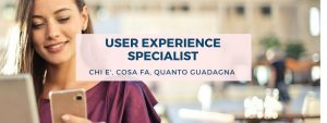 user experience specialist-evidenza