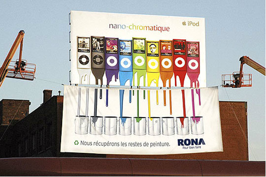 Rona marketing