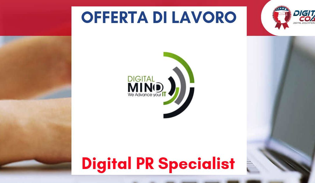 Digital PR Specialist – Venezia – Digital Mind