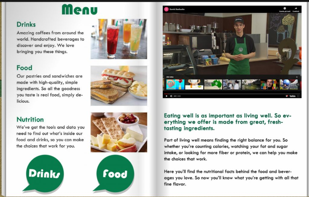 Brochure Digitale Starbucks