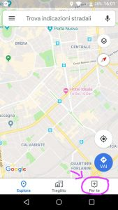 Hashtag in Google Maps PER TE