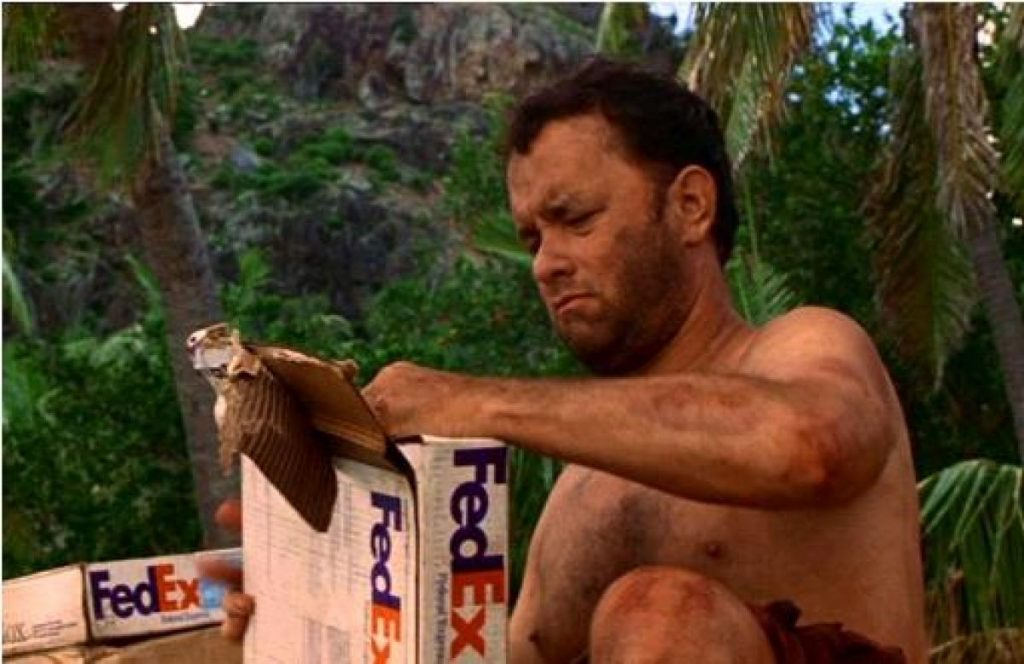 Product placement castaway