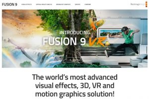 motion graphic Fusion 9