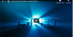 motion graphic ray effect