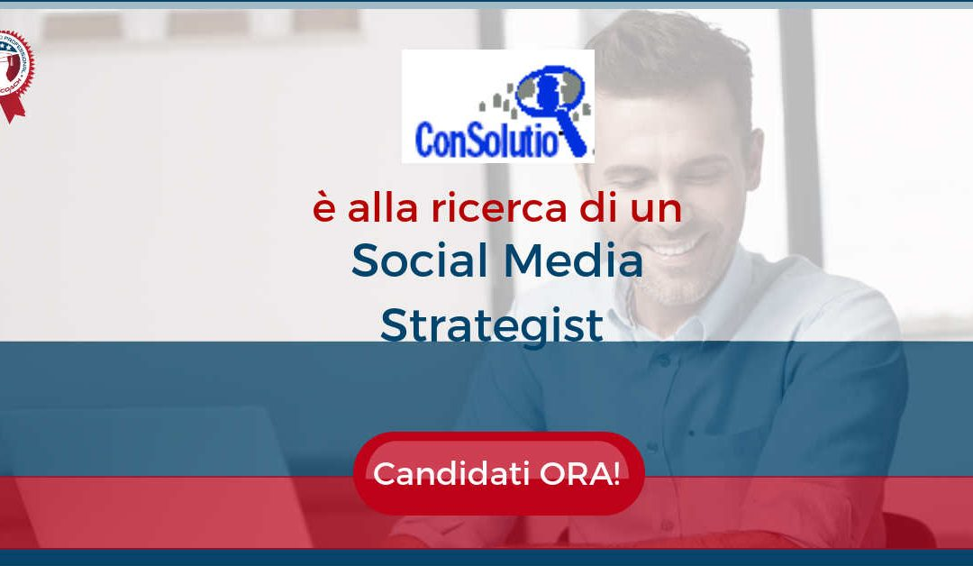 Social Media Strategist – Padova – ConSolutio