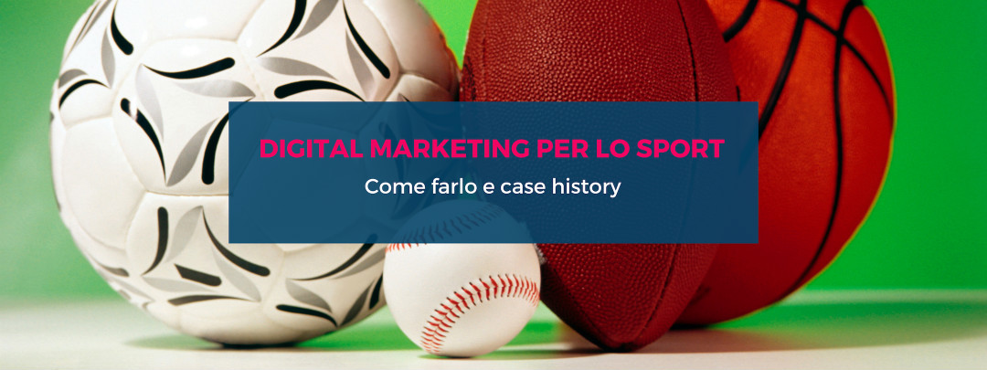 Digital marketing per lo sport