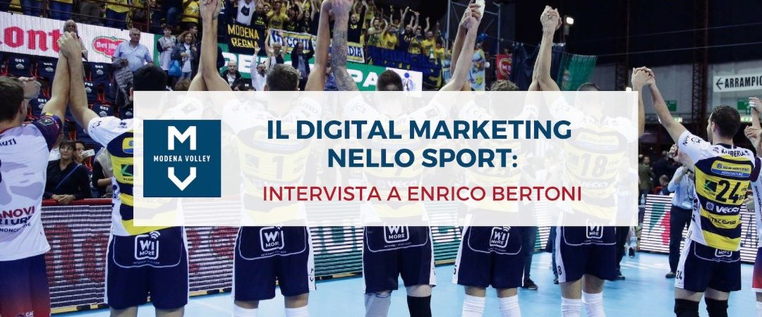 Strategia digitale nello sport: l'esempio del Modena Volley