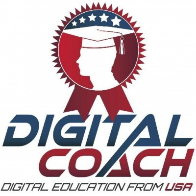 digital coach logo author