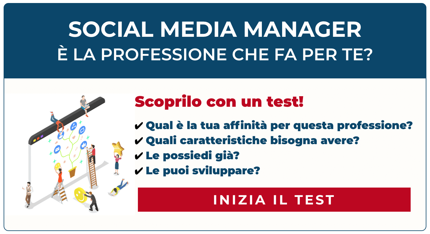 Test Professione Social Media Manager