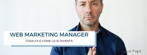 web marketing manager