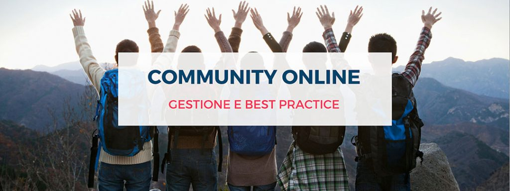 community online gestione e best practice