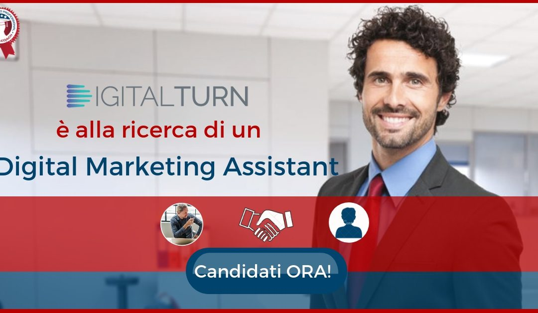 Digital Marketing Assistant - Milano - DigitalTurn