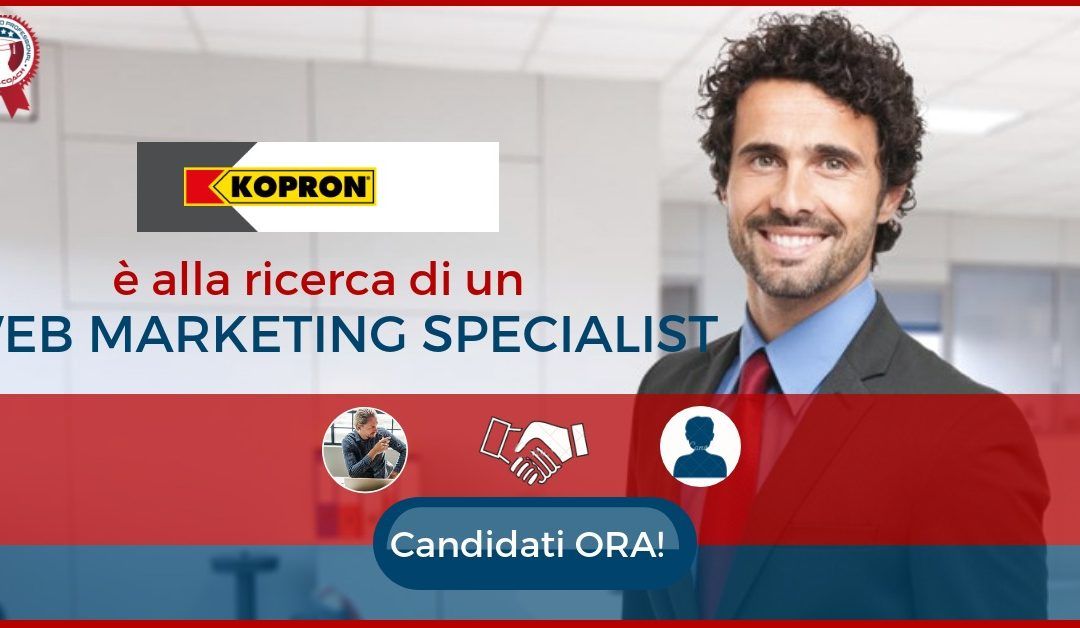 Web Marketing Specialist – Milano – Kopron