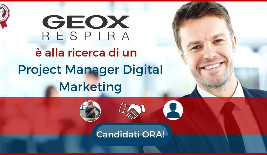 Project Manager Digital Marketing - Biadene di Montebelluna - Geox