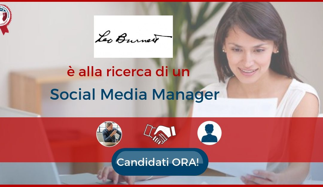 Social Media Manager - Milano - Leo Burnett