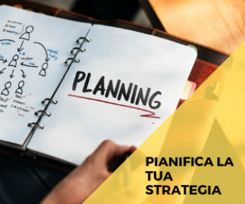 pianifica la tua strategia di marketing