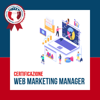 Corso con certificazione Web Marketing Manager