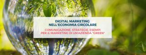 Digital marketing economia circolare-sostenibilità