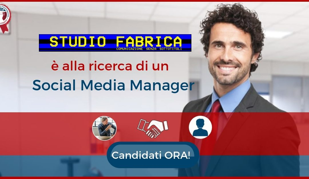 Social Media Manager – Rimini – Studio Fabrica