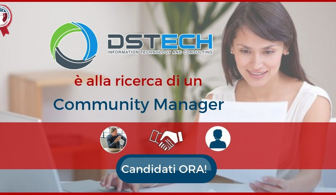 Community Manager - Roma - DS Tech