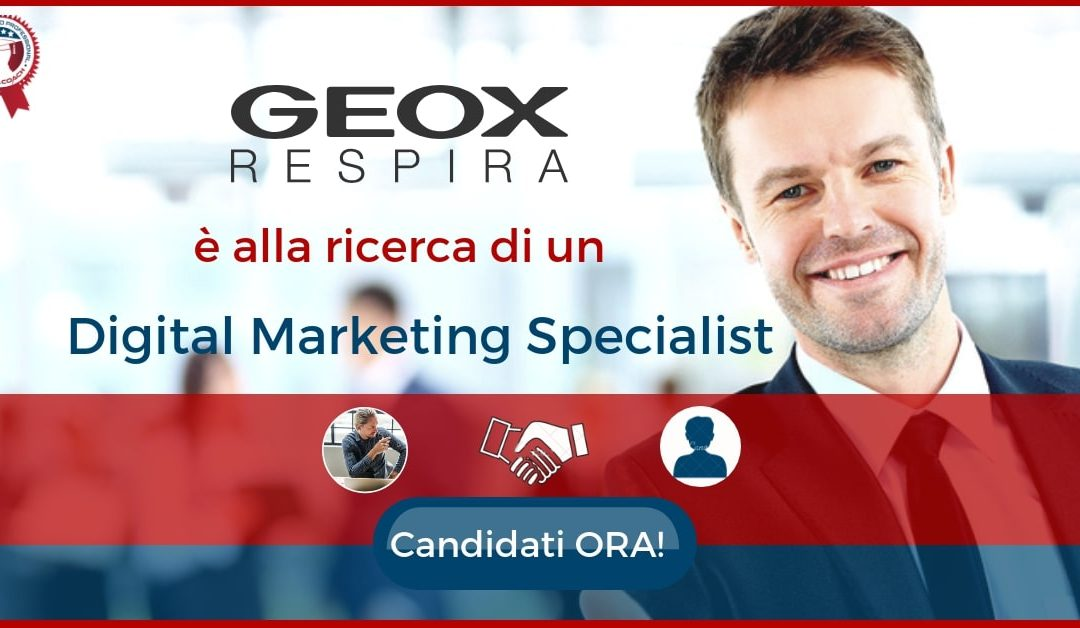 Digital Marketing Specialist - Montebelluna - Geox