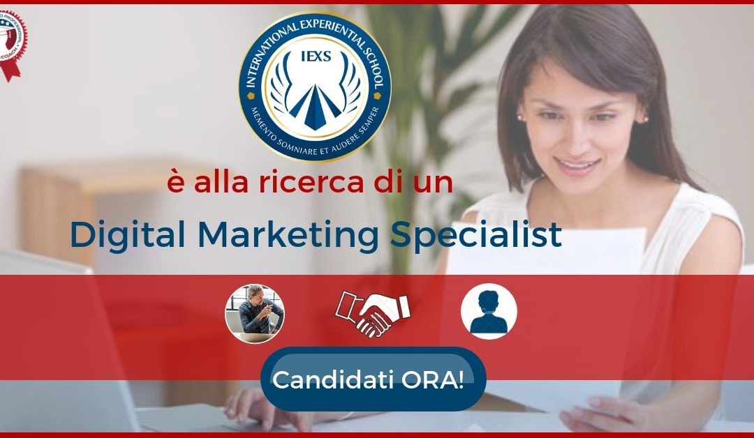 Digital Marketing Specialist –  Reggio Emilia – International Experiential School