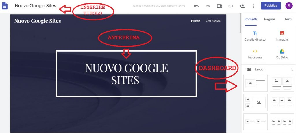 nuovo-google-sites-dashboard