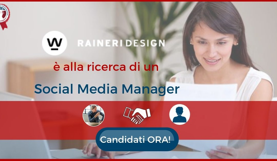 Social Media Manager - Brescia - Raineri Design