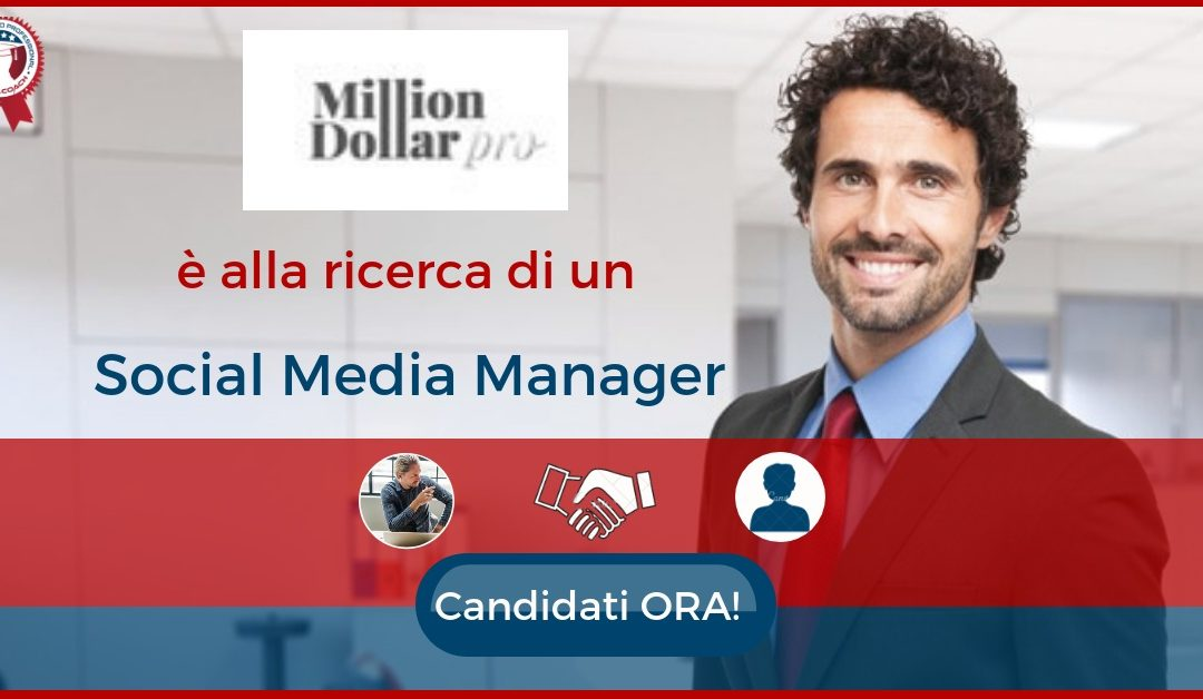 Social Media Manager – Milano – MDP