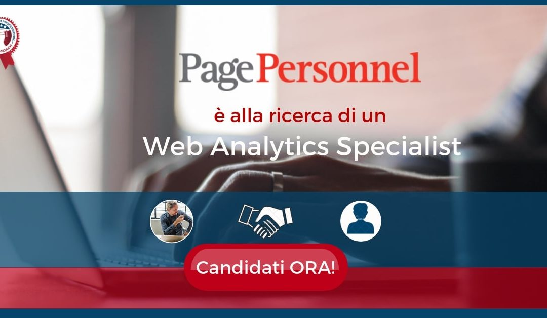 Web Analytics Specialist - Milano - Page Personnel