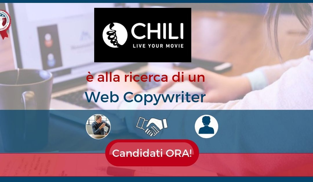 Web Copywriter - Milano - Chili