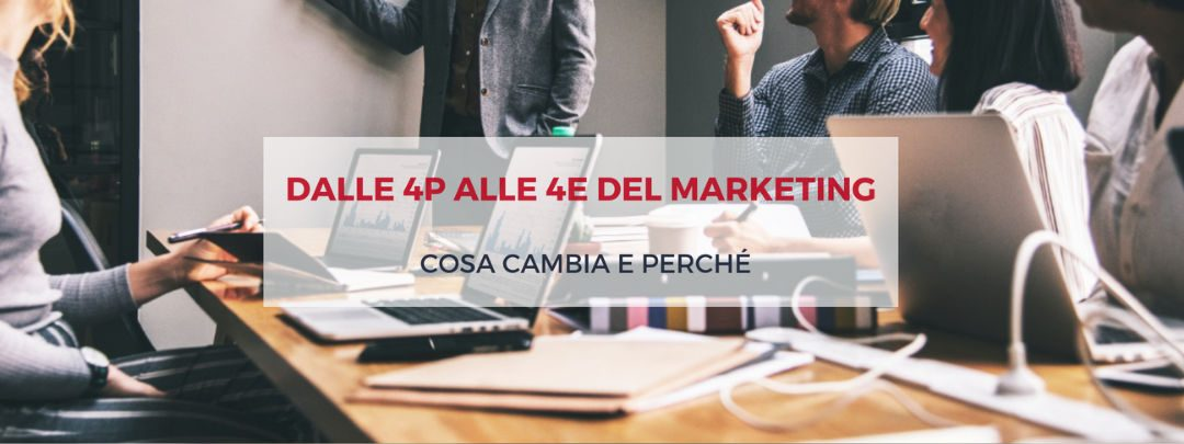 Dalle 4P alle 4E del marketing: cosa cambia e perché